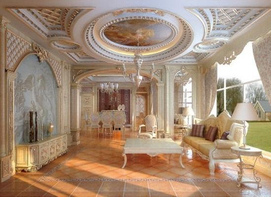 巴洛克风格装修 豪华而富有艺术内涵