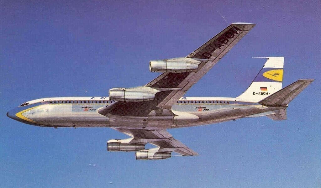 第一架成功运营的商用喷气式客机