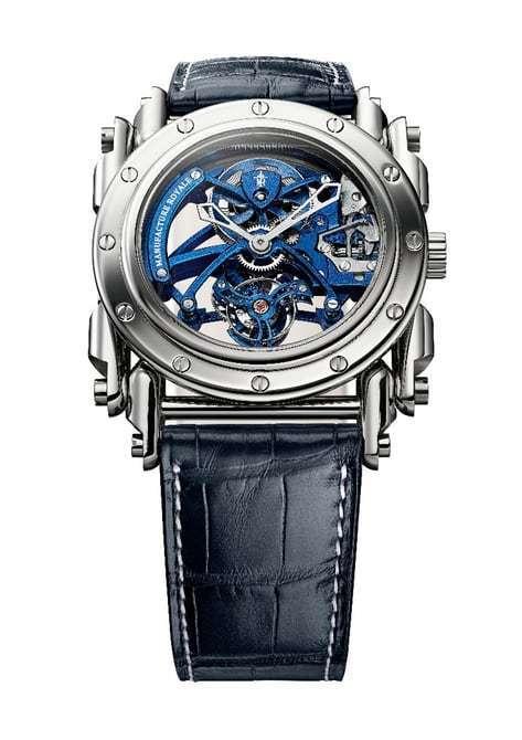 哲学与蒸汽朋克之美:Androgyne Royale Steel腕表系列的照片 - 2