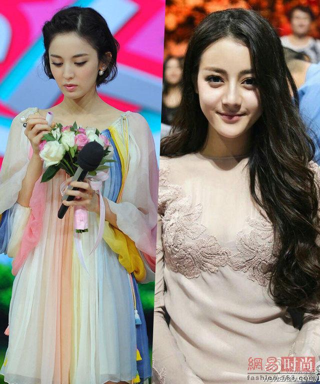 古力娜扎vs迪丽热巴 两个高颜值的新疆小花旦谁美