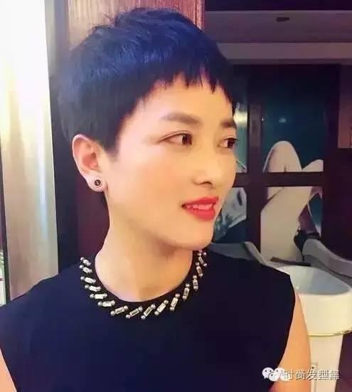 女士超短发_女生超短发帅气发型 chunji.cn
