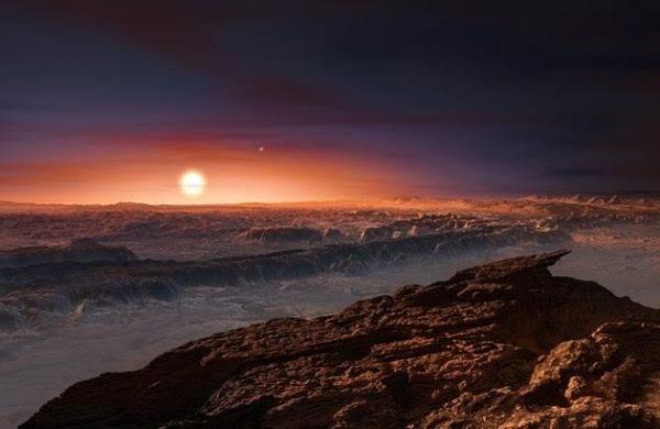 另一个地球:距离地球最近恒星周围发现系外行星地表或有水的照片 - 1