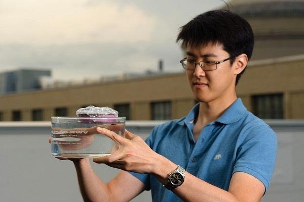 "MIT打造出了成本更低的""烧水海绵""蒸汽装置:原材料唾手可得的照片 - 1"