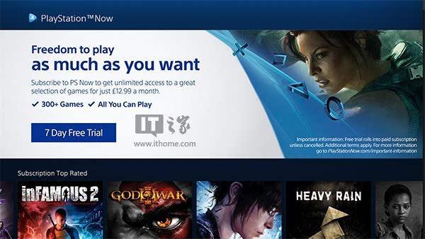 PS Now正式登陆PC PSN欧服玩家可免费体验