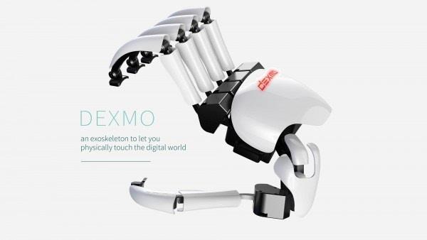 触碰VR交互:集捕捉/互动/反馈一体的Dexmo外骨骼手套的照片 - 1