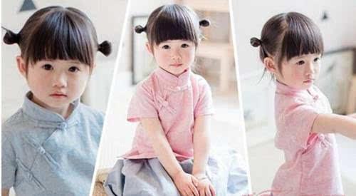 儿童短发发型扎法01 >>>>>>