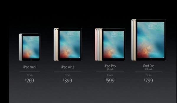 供应链认为平板电脑市场开始扩大 苹果iPad坚守高端市场的照片
