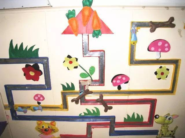 小班益智区墙面布置-开学主题墙 区角墙面 窗户布置,都看这里