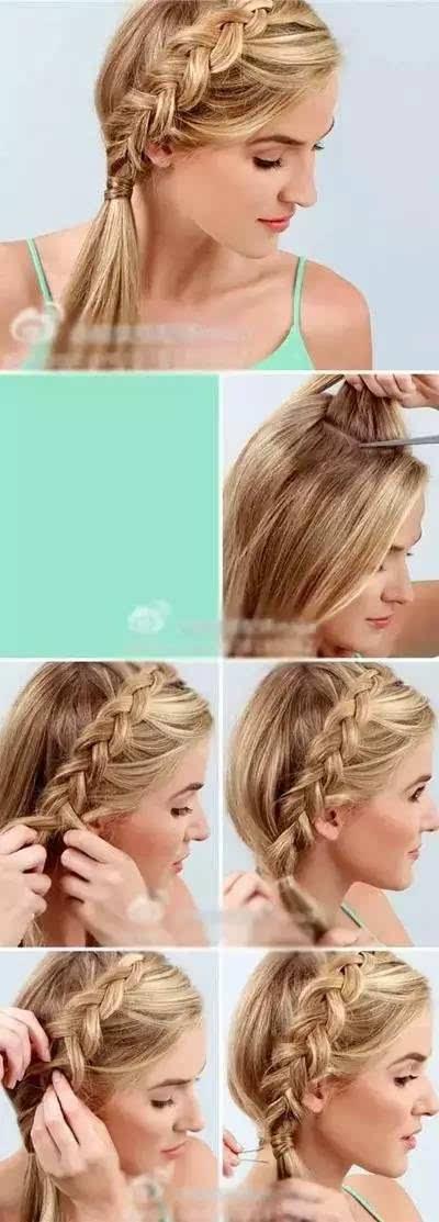 8款简单又好看的发型教程!