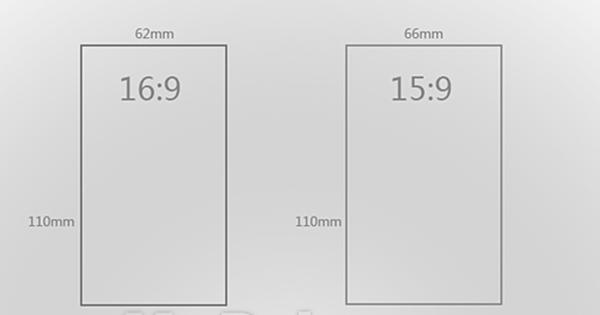 你以为只有16:9?盘点那些奇葩屏幕比例的手机的照片 - 3