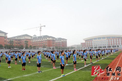 中国足协上汽大众青少年足球训练营(长沙站)落户望城长郡月亮岛学校
