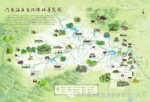 手绘地图游京西,答题能赢演出票……作为第四届北京