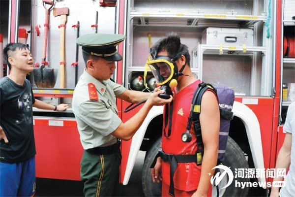 消防服穿戴步骤图解