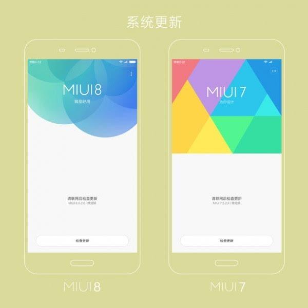 万花筒式全新设计 小米给出MIUI 7&MIUI 8设计对比图的照片 - 1