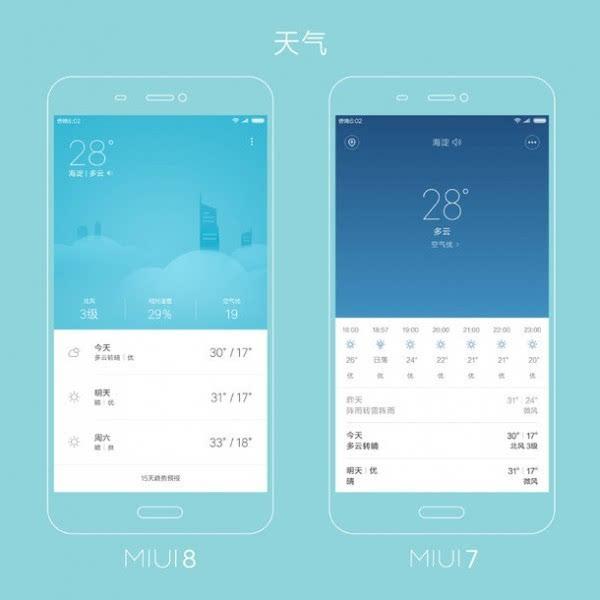 万花筒式全新设计 小米给出MIUI 7&MIUI 8设计对比图的照片 - 4
