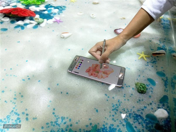 三星Galaxy Note7 铂光金现场上手图赏的照片 - 2