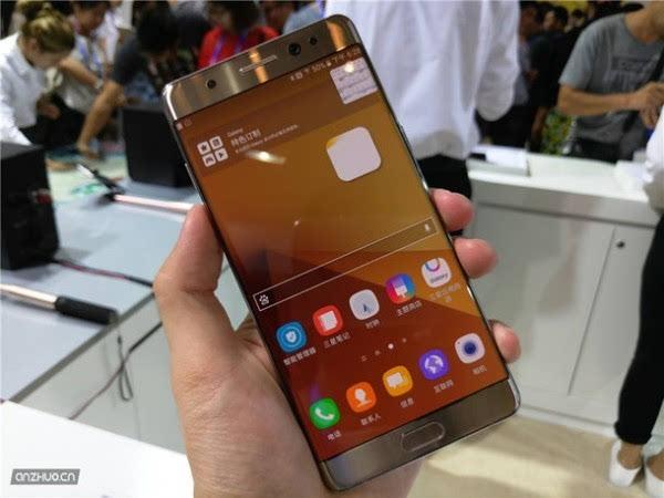 三星Galaxy Note7 铂光金现场上手图赏的照片 - 1