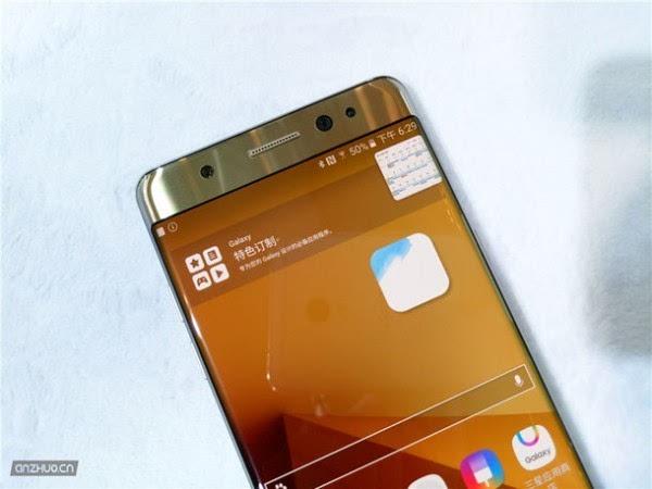 三星Galaxy Note7 铂光金现场上手图赏的照片 - 6