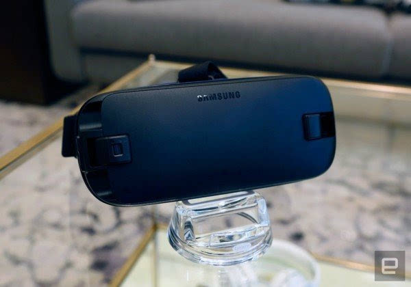 充满科技感的产物:三星发布新一代Gear VR设备的照片 - 4