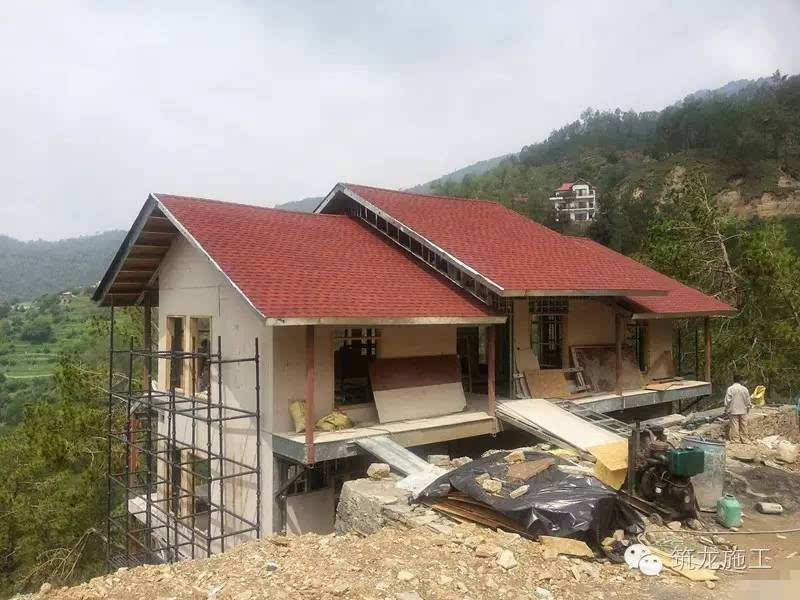 阿三建房记:实拍印度轻钢结构别墅施工全程