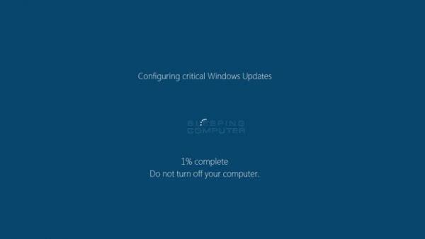 勒索软件伪装成Windows更新程序加密受害者文件的照片 - 1