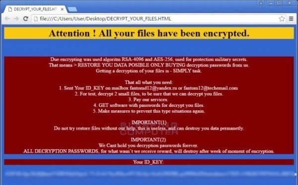 勒索软件伪装成Windows更新程序加密受害者文件的照片 - 2