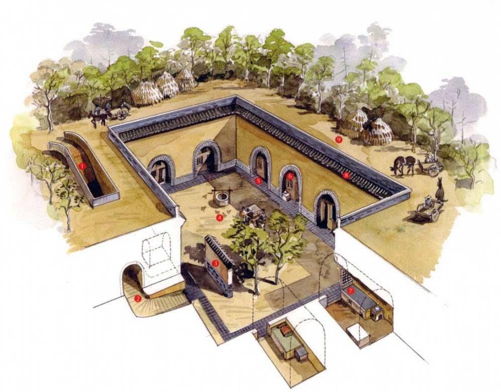 51个中国经典古建筑手绘 精妙绝伦