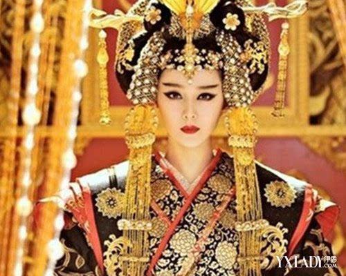 武媚娘范冰冰古装图片大全 回顾一代女皇的传奇人生
