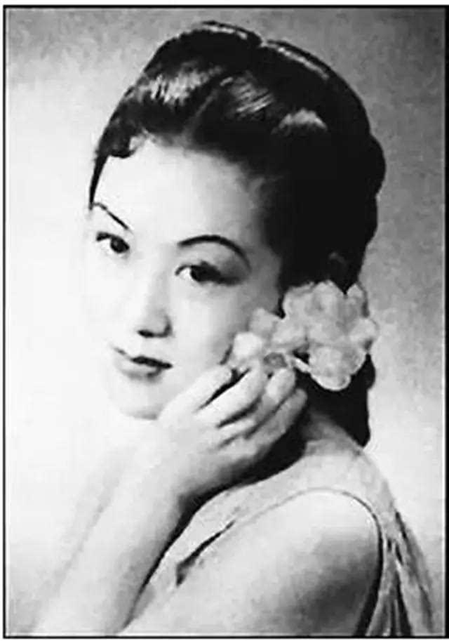 上官云珠,民国绝代美女.与鲁迅爱徒姚克也是一段才子佳人.