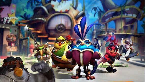 《愤怒的小鸟》游戏IP化已经成赚钱新模式的照片 - 3