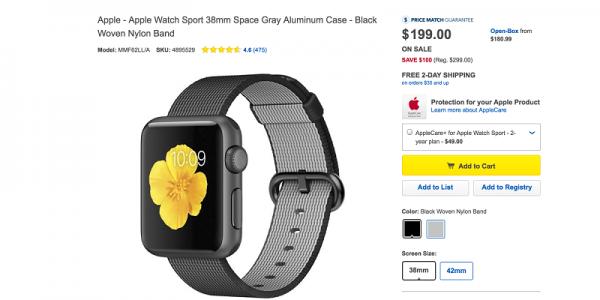 第二代要来了?经销商下调Apple Watch售价的照片