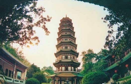 广州最早的佛塔——六榕寺花塔