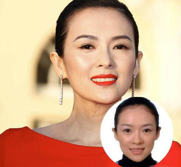 赵丽颖的证件照竟然是这样,明星素颜的真实对比!