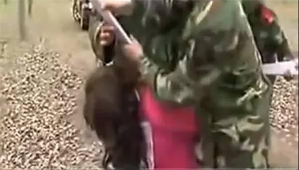 十七名女犯被槍毙