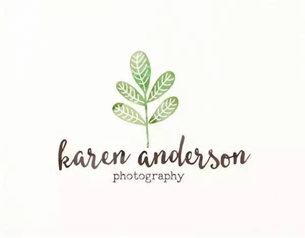 [清新]40例植物元素logo设计