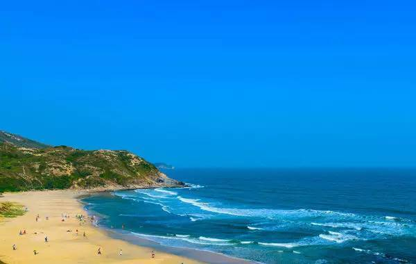 3惠州  盐洲岛 盐洲岛是惠州市唯一的一个海岛镇,但关于这里的一切却