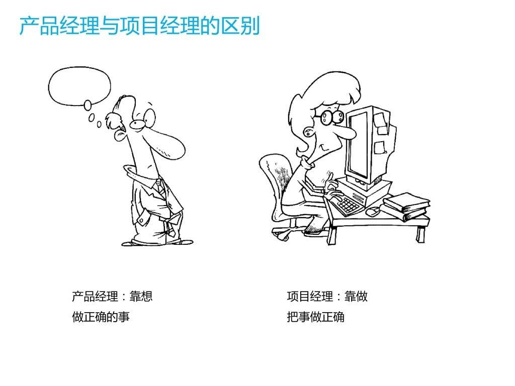 项目经理与产品经理图片