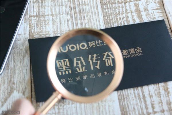 """迷之""""放大镜"""":努比亚9月1日黑金传奇发布会邀请函亮相的照片 - 4"""