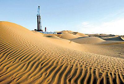 塔里木盆地中西部,是中国石化在碳酸盐岩海相石油