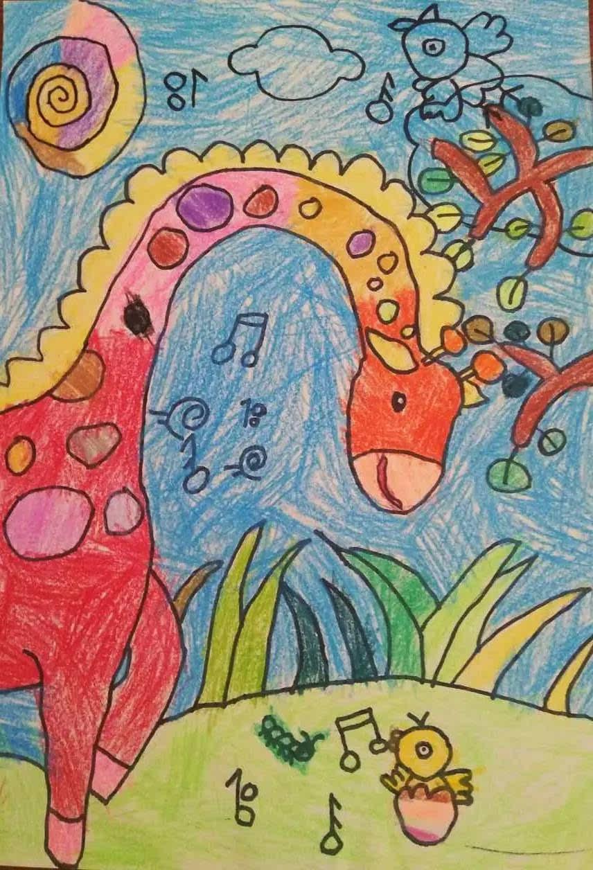 小小艺术家 | 她4岁获全国一等奖,5岁摘得韩国金奖图片