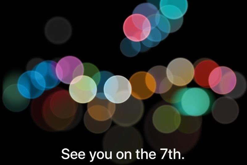 """尽情""""7""""待 苹果确定将于9月7日举行新品发布会的照片"""