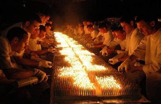 糕上点7.2万根蜡烛