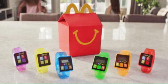 麦当劳儿童智能手表
