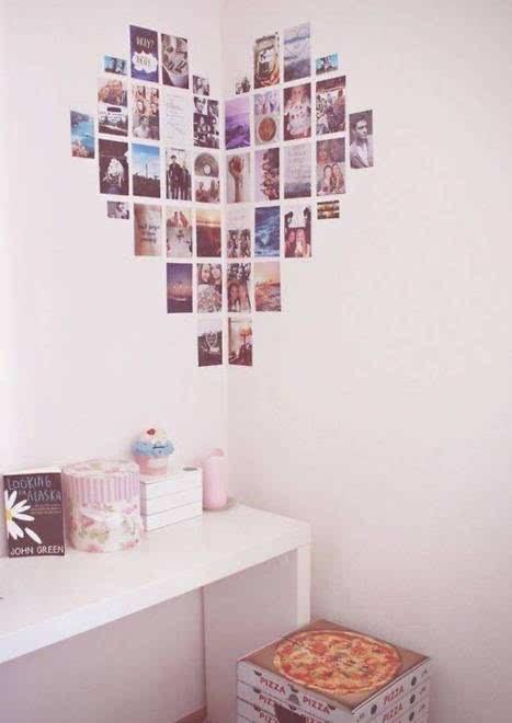 照片墙的设计和摆放,收了留着以后用!