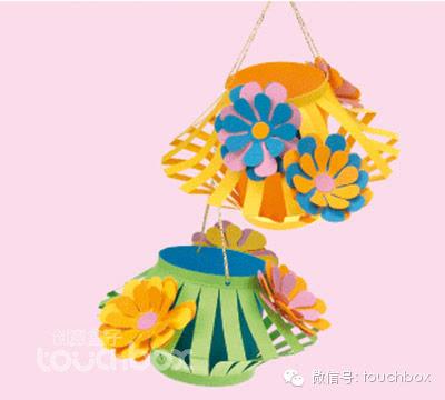 幼儿园中秋节系列手工灯笼制作!