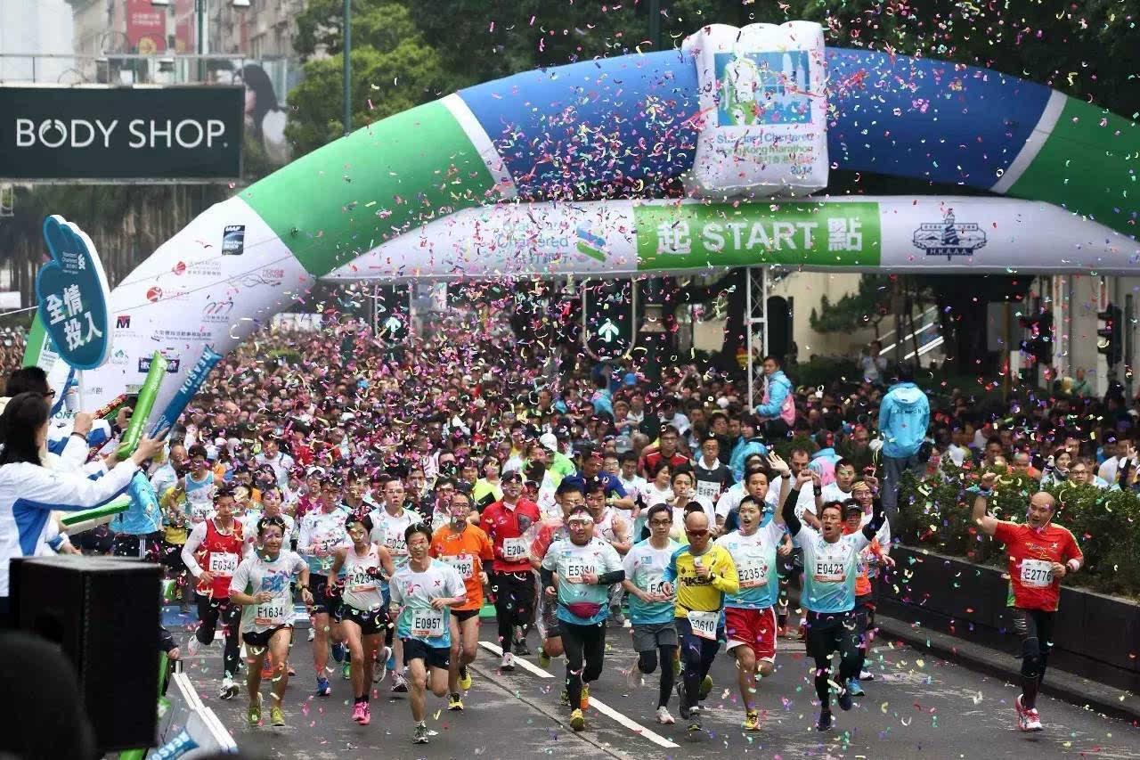 2017香港马拉松报名抽签将于9月14日开启,没有什么能阻挡我们对魔