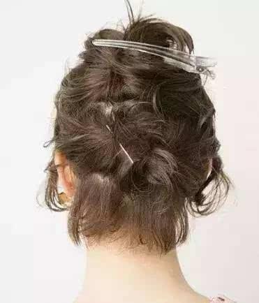 短发怎么扎头发好看 短发扎法教程