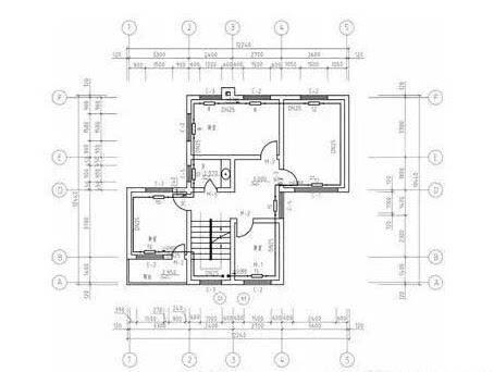 房子平面内部结构图