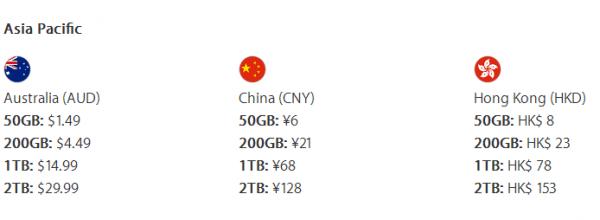 苹果现提供2TB iCloud储存方案 月费128元的照片 - 2