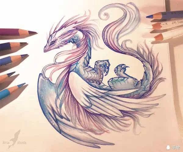 新浪微博:@cg窝插画原画手绘板绘画游戏美术